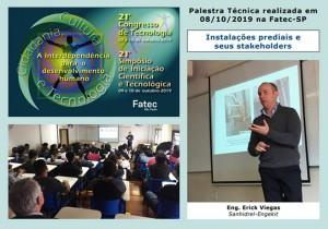 21º Congresso de Tecnologia Simpósio da Iniciação Científica e Tecnológica