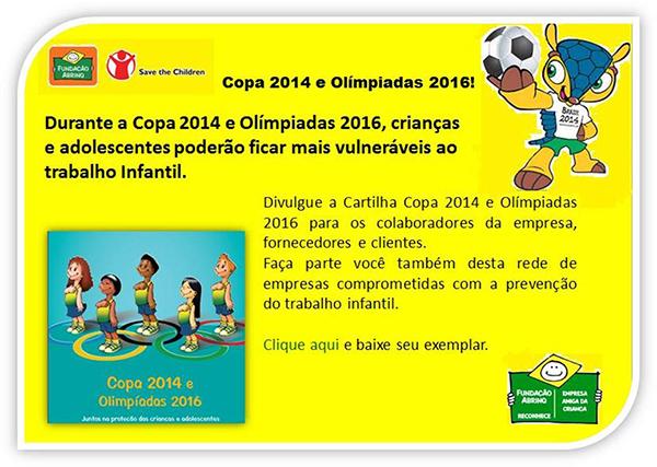Copa 2014 e Olímpiadas 2016